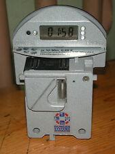 Kultige & schrille originale U.S Parkuhr für Duncan Meter, EURO, funktionsfähig