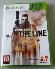 """Jeu XBOX 360 """"Spec Ops The Line"""" complet en boîte (n°1075)"""