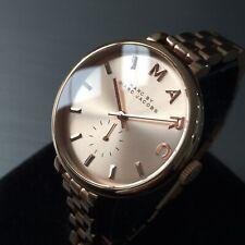 Ladies Marc Jacobs Designer Watch SALLY MBM3364 Rose Gold Sub Dial Genuine