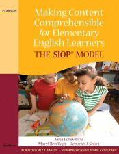 Making Content Comprehensible for El... by Short, Deborah J. Mixed media product
