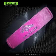 NFL Denver Broncos / Shoulder Pad Cover for Seat Belt / Breast Cancer Pink