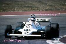 CARLOS REUTEMANN Williams FW07C Gran Premio di Spagna 1981 fotografia 1