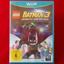 Nintendo Wii U ► Lego Batman 3-más allá de Gotham ◄ nuevo & OVP   dt. version