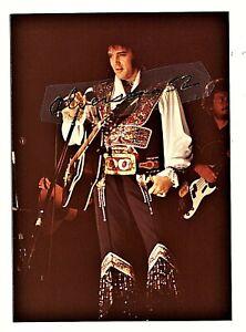 ELVIS PRESLEY ORIGINAL COLOR CONCERT PHOTO - ASHEVILLE, NC - JULY 23, 1975
