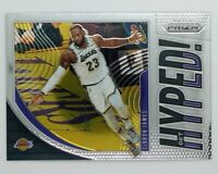 2019-20 Panini Prizm GET HYPED Lebron James #2, Los Angeles Lakers, Insert