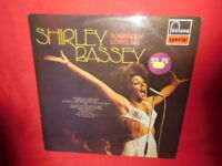 SHIRLEY BASSEY Somebody loves me LP 1973 AUSTRALIA MINT- First Press