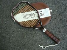 New listing Used Once Wilson Aggressor Racquetball Racquet with Cover,  3 15/16 XS