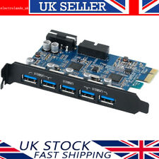ORICO PCIE USB 3.0 Expansion Hub Power Adapter 5 Ports with Internal USB 20-PIN
