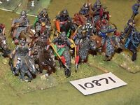 25mm dark ages / hun - cavalry 12 cavalry - cav (10871)