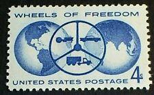 U.S. Scott 1162- Wheels of Freedom, Tractor, Car, Truck- MNH OG F-VF 1960