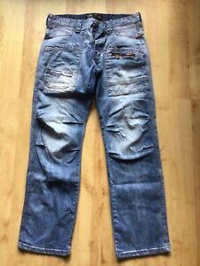 Timezone Jeans Hose W 34 L 32, 34/32 blau Style ClayTZ
