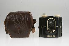 Adox 66 6X6 Bakelit Rollfilmkamera mit Tasche