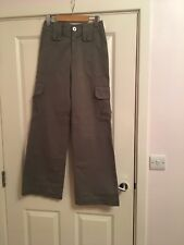 Ladies Diesel wide leg cargo trousers size  6