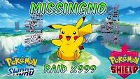 Missingno - Clone Egg Raid! x999 Items! ⚔ Pokemon Sword and Shield 🛡️