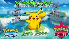 Missingno - Clone Egg Raid! x999 Items! ⚔ Pokemon Sword and Shield 🛡️