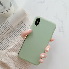 Candy Solid Color Silicone Phone Case For iPhone 11 Pro XS MAX XR X 7 8 6 Plus