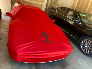 308-Gts-328-Gts Ferrari Car Cover with Seat Covers Set  of two Universal .