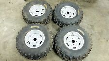 05 Suzuki LTA 700 LTA700 King Quad atv wheels rims and tires set front rear