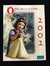 WDCC Disney 2002 Once Upon A Time Snow White Folder