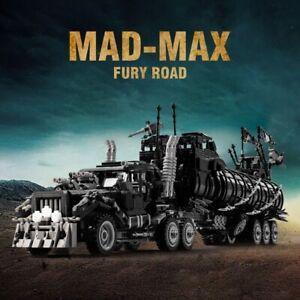 DIY Mad Max The War Rig High Tech Modified Building Blocks Armor Truck Model Set