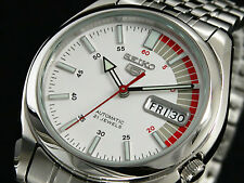 Seiko 5 Automatic Mens Watch See Through Back Racer Dial SNK369K1 UK Seller