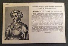 CPA. Louis de NEVERS. VAN ARTEVELDE. 44. Histoires de la  Belgique et Pays Bas.