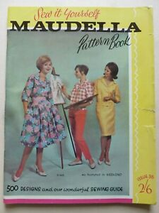 Sew It Yourself MAUDELLA PATTERNS Issue 35 (Early 1960's)– Fashion / Dressmaking