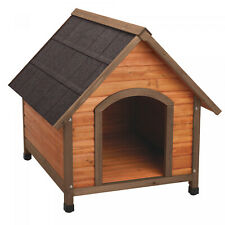New listing Extra Large Outdoor Wood Dog House - Made of Solid Fir Wood For Large Breed