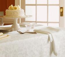 Sferra Orchard Ivory Damask Jacquard Scroll Buds/Leaves Set of 4 Dinner Napkins