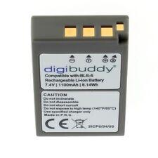 Batteria Digibuddu HQ per Olympus BLS5 BLS-5 BLS-50 E-PM1 E-PM2 Stylus 1 1S OM-D