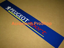 "53"" Peugeot Sport Windshield Sun strip visor Decal Sticker 206 207 208 306 gti 6"