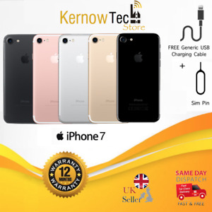 Apple iPhone 7 - 32/128/256GB - UNLOCKED Smartphone - Various Colours All Grades