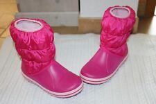 Crocs pink Winter Puff Boot Stiefel warme Gummistiefel Schuhe Gr. 34-35 J3 Neu