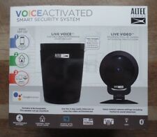 Altec Lansing Voice Activated Security System - Google Assistant - 360 Camera