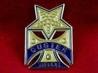 CUSTER'S CIVIL WAR MEDAL Given to His Michigan Wolverines - Repro.