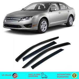 Rain Guard Visors Deflector Out Channel /& Sunroof 5pcs 2006-2012 Ford Fusion