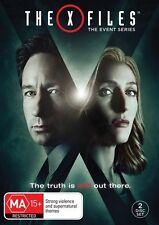 The X-Files Event Series 2016 (DVD, 2016, 2-Disc Set)