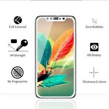 For iPhone X Screen Protector Tempered Glass Genuine 3D Gorilla Film HD White 9H