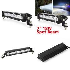 Cree LED Luces Bar 4X4 haz puntual Off Road camiones 4Wd SUV 7 in (approx. 17.78 cm) 18 W lámparas de niebla