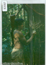 B3587cgt Brazil Extracting Latex from Rubber Trees postcard