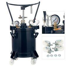 Commercial 2.5 Gallon (10 Liters) Spray Paint Pressure Pot Tank w/Mixing Agitato