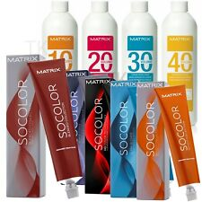 Matrix Socolor Permanent Hair Color 3oz or Creme Developer 3oz (Choose Yours)