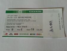 Sammler Ticket Youth League Celtic U19 FC Bayern München U19 31.10.17 FCB Celtic