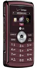 LG EnV3 Maroon Cell Phone VX9200M Verizon Flip Qwerty Keyboard GPS 3MP Camera