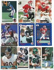 50 Different Cal State Fullerton Alumni Football Cards; 1989-1994; NM-Mint