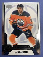 2019-20 Upper Deck Credentials Base #15 Leon Draisaitl Edmonton Oilers