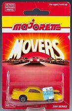 Majorette Die Cast #212 Pontiac Firebird Trans Yellow MOC