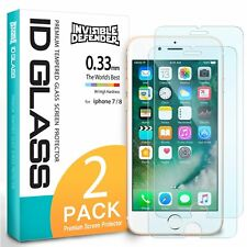 For iPhone 8 / iPhone 7   Ringke Tempered Glass Clear Screen Protector [2pcs]
