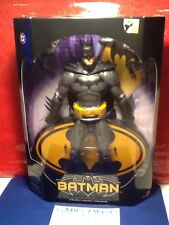 """DC UNIVERSE SUPERHEROES BLACK AND GREY BATMAN 12"""" INCH ACTION FIGURE BRAND NEW"""