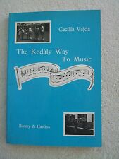 Kodaly Way to Music Sequential Approach Music Vajda SB